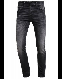 Jack & Jones Jjiglenn Jjfox Slim Fit Jeans Black Denim afbeelding