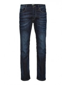 Jack & Jones Straight Leg Jeans Blue Denim afbeelding