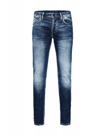 Jack & Jones Tim Leon Boyfriend Jeans Blue Denim afbeelding