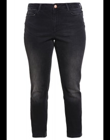 Junarose Jrfive Slim Fit Jeans Dark Grey Denim afbeelding