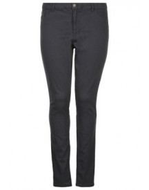 Junarose Jrqueen Slim Fit Jeans Dark Grey Denim afbeelding