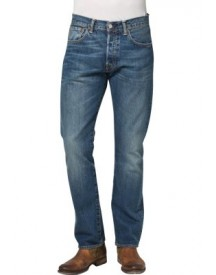 Levis® 501 The Original Straight Straight Leg Jeans Button Fly afbeelding