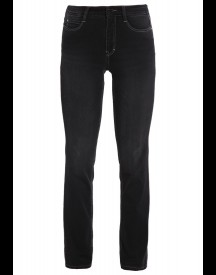 Mac Dream Straight Leg Jeans Soft Black Used afbeelding
