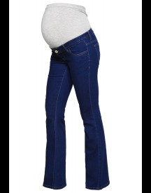 Mama Licious Mlwide Flared Jeans Medium Blue Denim afbeelding