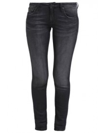 Mavi Lindy Slim Fit Jeans Black Brushed afbeelding