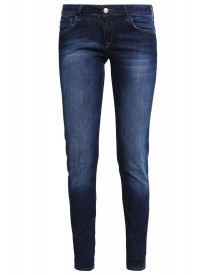 Mavi Lindy Slim Fit Jeans Dark Indigo Stretch afbeelding