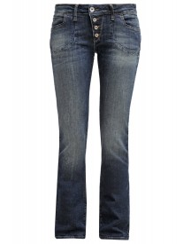 Mavi Olivia Straight Leg Jeans Green Shaded Stretch afbeelding