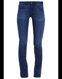 Mavi Olivia Straight Leg Jeans Sateen Blue Glam Stretch afbeelding