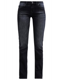 Mavi Uptown Mona Straight Leg Jeans Ink Brushed Memory Stretch afbeelding