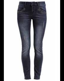 Mos Mosh Slim Fit Jeans Blue Black Denim afbeelding