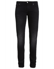 Nudie Jeans Long John Straight Leg Jeans Black Coyote afbeelding