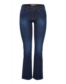 Only Bootcut Jeans Dark Blue Denim afbeelding