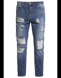 Only Onltonni Relaxed Fit Jeans Medium Blue Denim afbeelding