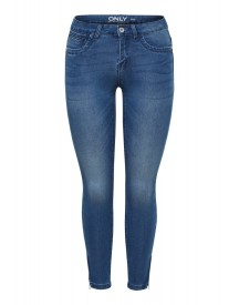 Only Slim Fit Jeans Medium Blue afbeelding