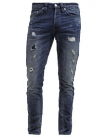 Only & Sons Onsweft Straight Leg Jeans Dark Blue Denim afbeelding