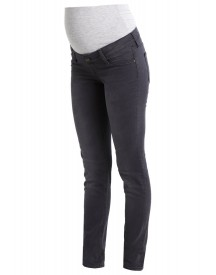 Queen Mum Nikki Slim Fit Jeans Dark Grey afbeelding