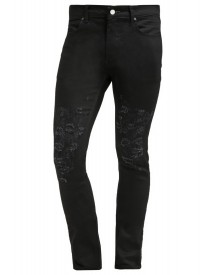 Religion Shredder Slim Fit Jeans True Black afbeelding