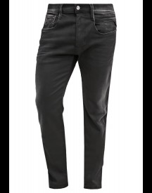 Replay Hyperflex Anbass Straight Leg Jeans Black Denim afbeelding