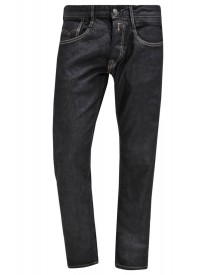 Replay Newbill Straight Leg Jeans Darkblue Denim afbeelding