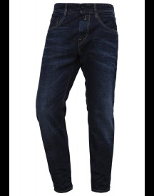 Replay Numasig Relaxed Fit Jeans Darkblue Denim afbeelding