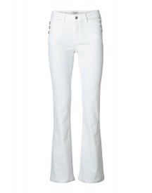 Selected Femme Bootcut Jeans White Denim afbeelding