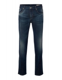 Selected Homme Antonio Banderas Design For Selected Homme Straight Leg Jeans Dark Blue Denim afbeelding