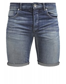 Selected Homme Shnalex Jeans Shorts Dark Blue Denim afbeelding