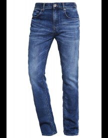 Selected Homme Shntwomario Straight Leg Jeans Medium Blue Denim afbeelding