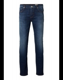 Selected Homme Slim Fit Jeans Dark Blue Denim afbeelding