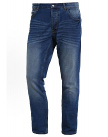 Solid Joy Straight Leg Jeans Blue Denim afbeelding