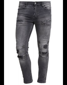 Tigha Clyde Straight Leg Jeans Grey afbeelding