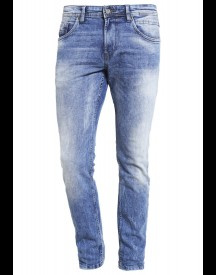 Tom Tailor Denim Aedan Slim Fit Jeans Heavy Bleached Blue Denim afbeelding