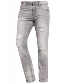 Tom Tailor Denim Aedan Slim Fit Jeans Stone Grey Denim afbeelding