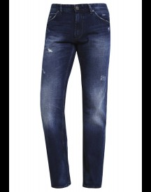 Tom Tailor Denim Atwood Straight Leg Jeans Destroyed Mid Stone Wash afbeelding