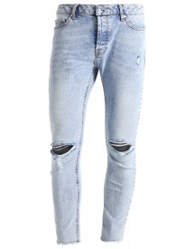 Topman Santal Slim Fit Jeans Mid Blue afbeelding