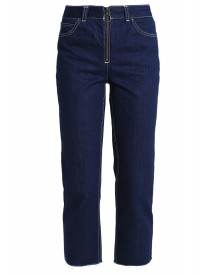 Topshop Boutique Straight Leg Jeans Middenim afbeelding
