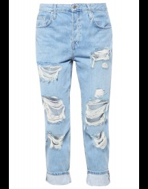 Topshop Hayden Relaxed Fit Jeans Bleach afbeelding