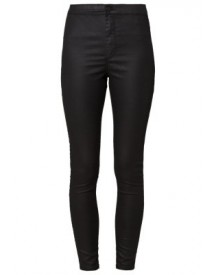 Topshop Joni Ultra High Skinny Slim Fit Jeans Black afbeelding