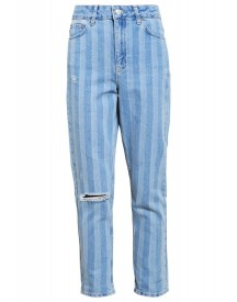 Topshop Relaxed Fit Jeans Blue afbeelding