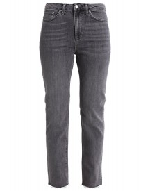 Topshop Straight Leg Jeans Grey afbeelding