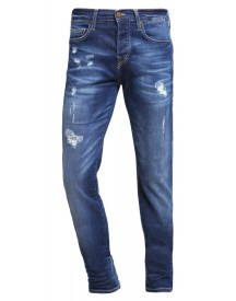 True Religion Rocco Straight Leg Jeans Blue Denim afbeelding