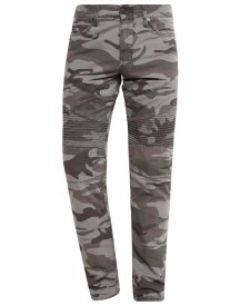 True Religion Slim Fit Jeans Ripped Camo afbeelding