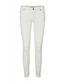 Vero Moda Slim Fit Jeans Bright White afbeelding