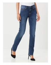 Vero Moda Straight Leg Jeans Medium Blue Denim afbeelding