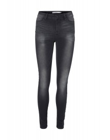 Vero Moda Veseven Slim Fit Jeans Dark Grey Denim afbeelding