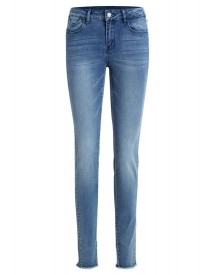 Vila Slim Fit Jeans Medium Blue Denim afbeelding