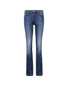 We Fashion Flared Jeans Blue afbeelding