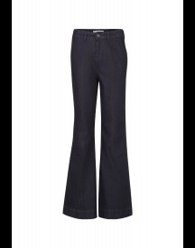 We Fashion Flared Jeans Dark Blue afbeelding