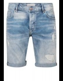 We Fashion Jeansshort Light Blue afbeelding