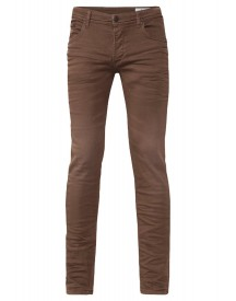 We Fashion Slim Fit Jeans Brown afbeelding